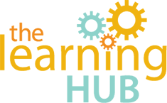 The LearningHUB logo